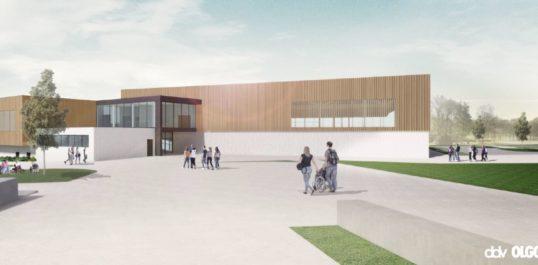Jodoigne, un nouveau hall sportif écoresponsable !