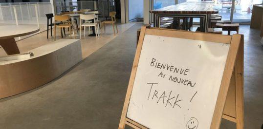 RTBF - Namur: le TRAKK s'agrandit pour mieux faire germer vos idées