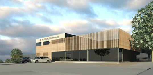 Nouveau centre de tri pour La Ressourcerie Namuroise à Ecolys®