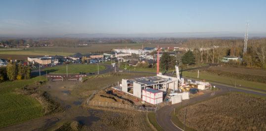 IDETA - Le développement du parc Polaris à Péruwelz avance à pas de géants !