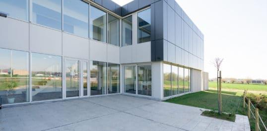 Projet BSol sous l'objectif : L'Alpha Business Center à Péruwelz/Beloeil